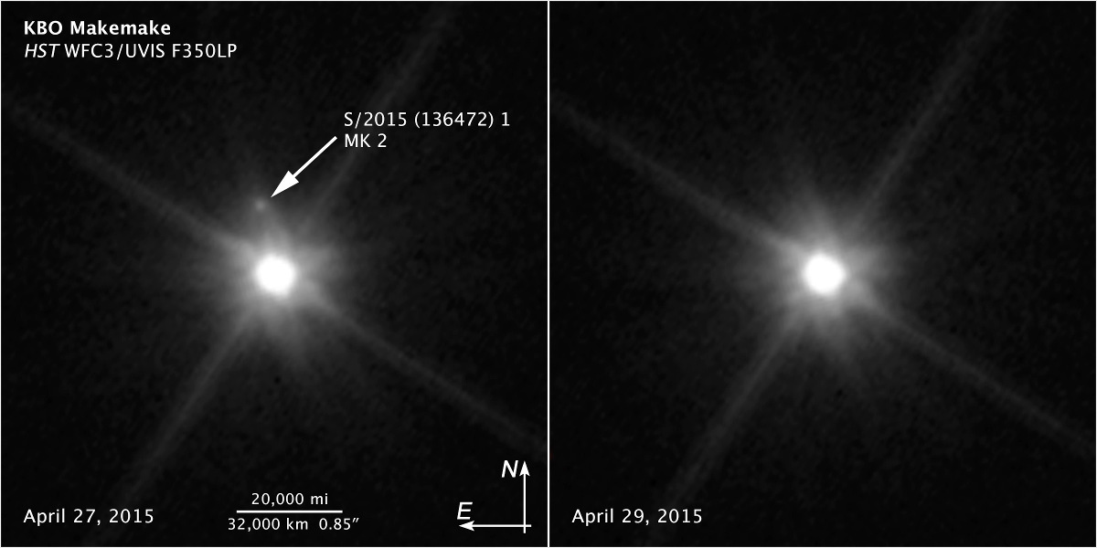Image credit: NASA, ESA, and Z. Levay (STScI). Acknowledgment: NASA, ESA, and A. Parker (Southwest Research Institute).