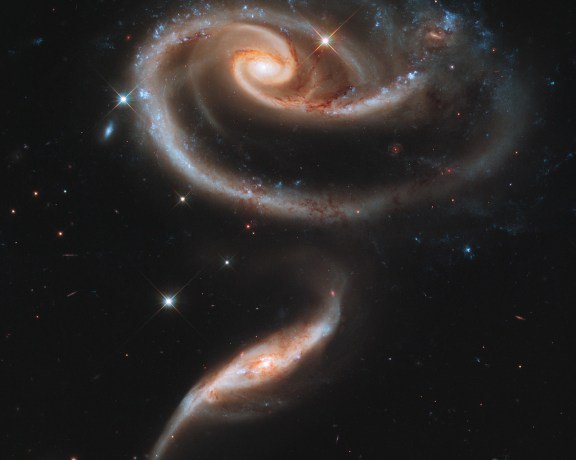 ARP 273: A Galactic Rose