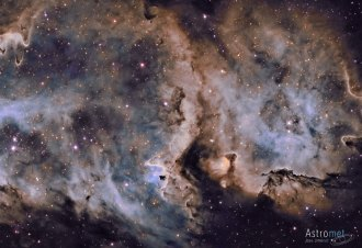 W5: The Soul Nebula. Image credit: José Jiménez Priego
