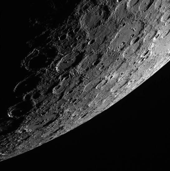 Mercury's Horizon. Image Credit and copyright: NASA/Johns Hopkins University Applied Physics Laboratory/Carnegie Institution of Washington