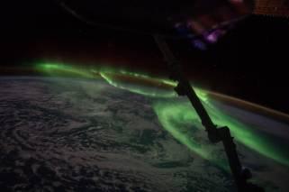 Auroras Over Southern Australia