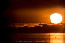 March 2016 Solar Eclipse. Image Credit: Matt Skinner