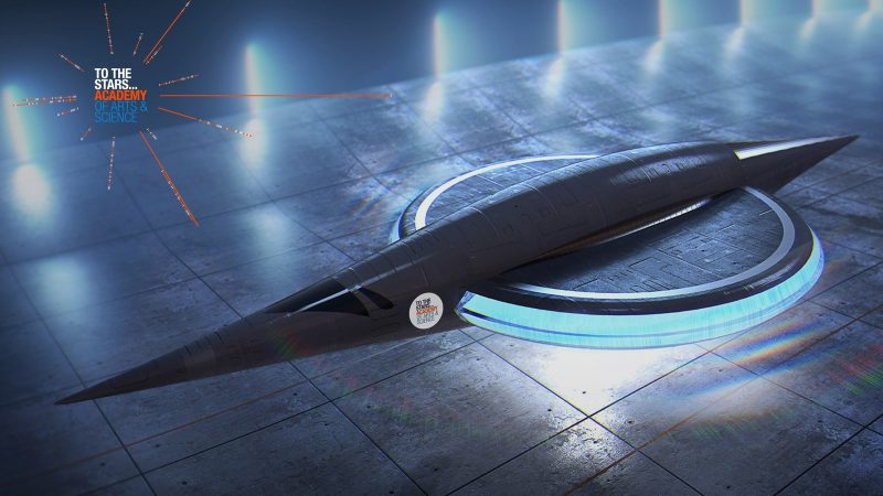 To The Stars Concept Advanced Electromagnetic Vehicle