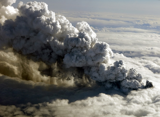 Volcanic Cloud Causes Widespread Disruption To UK