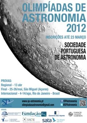 Olimpíadas de Astronomia 2012