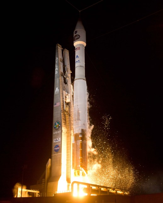 Launch of Atlas V TDRS-K from Cape Canaveral AFS