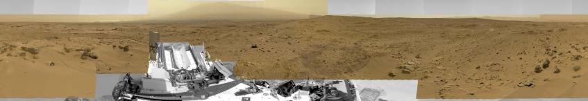 Crédito: NASA, JPL-Caltech, MSSS, Mastcam
