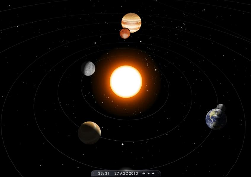 mars earth