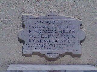 o mais antigo sinal de trânsito português que se conhece