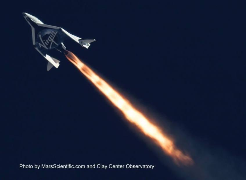 SpaceShipTwo-Flight-Test-Mojave-California-Virgin-Galactic-photo-Mars-Scientific-Clay-Observatory
