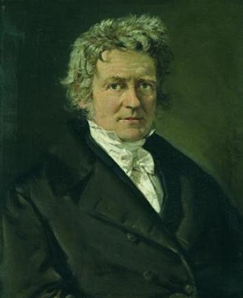 C. A. Jensen, Friedrich Wilhelm Bessel, 1839 (Ny Carlsberg Glyptotek)