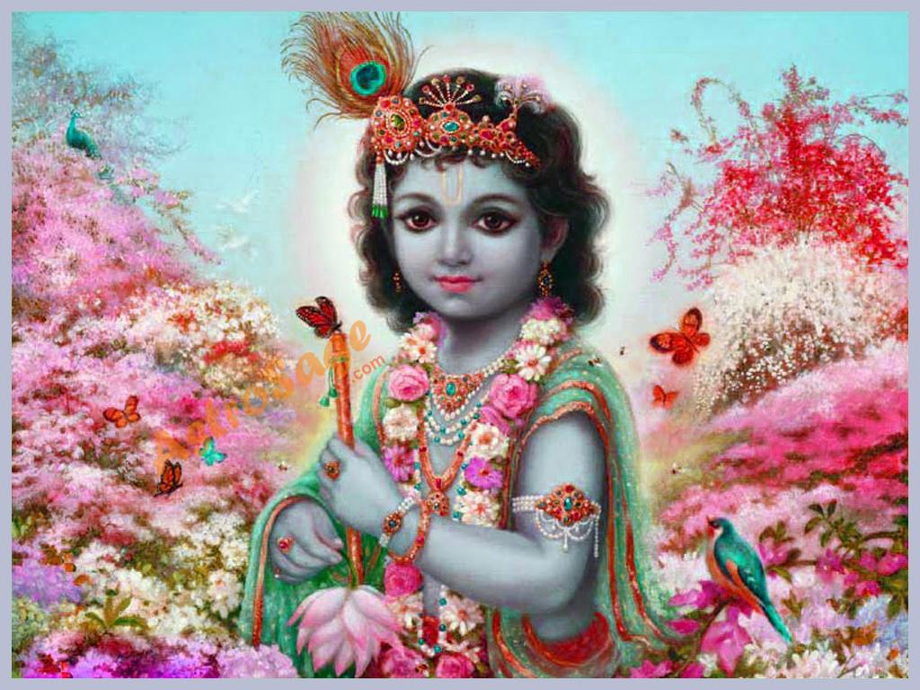 Krishna Wallpaper  Wallpaper Of Krishna