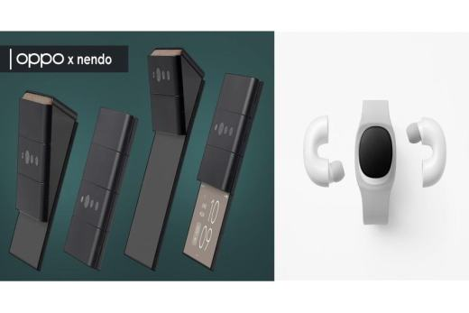 Oppo Slide-Phone and Music-Link Concept Devices