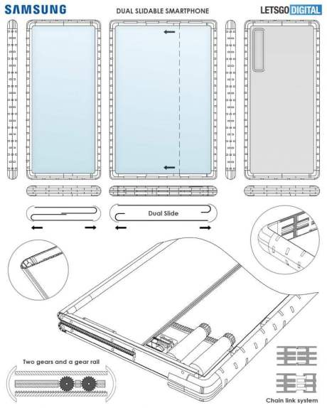 Samsung Rollable Phone Design In Newly Discovered Patent
