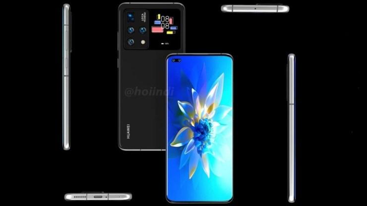 Leaked Photos/Renders Of Huawei Dual–Screen Smartphone