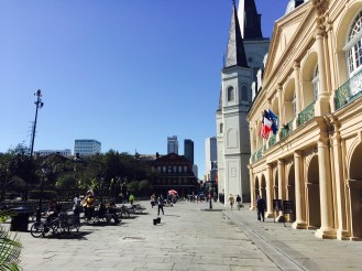 The streets of Jackson Square