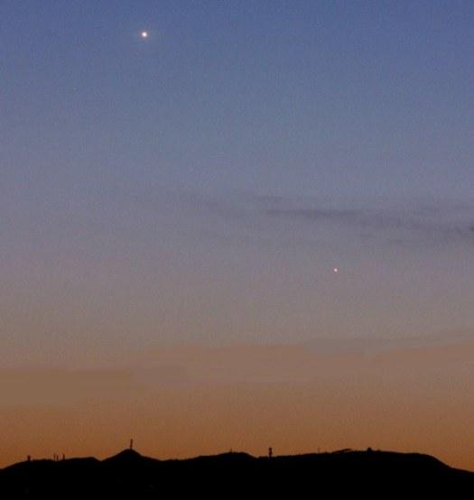 Alacakaranlıkta Venüs ve Merkür - Mitsuo Muraoka