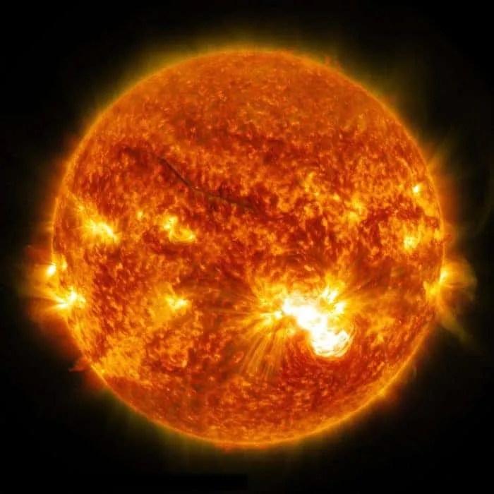 Sunce, NASA