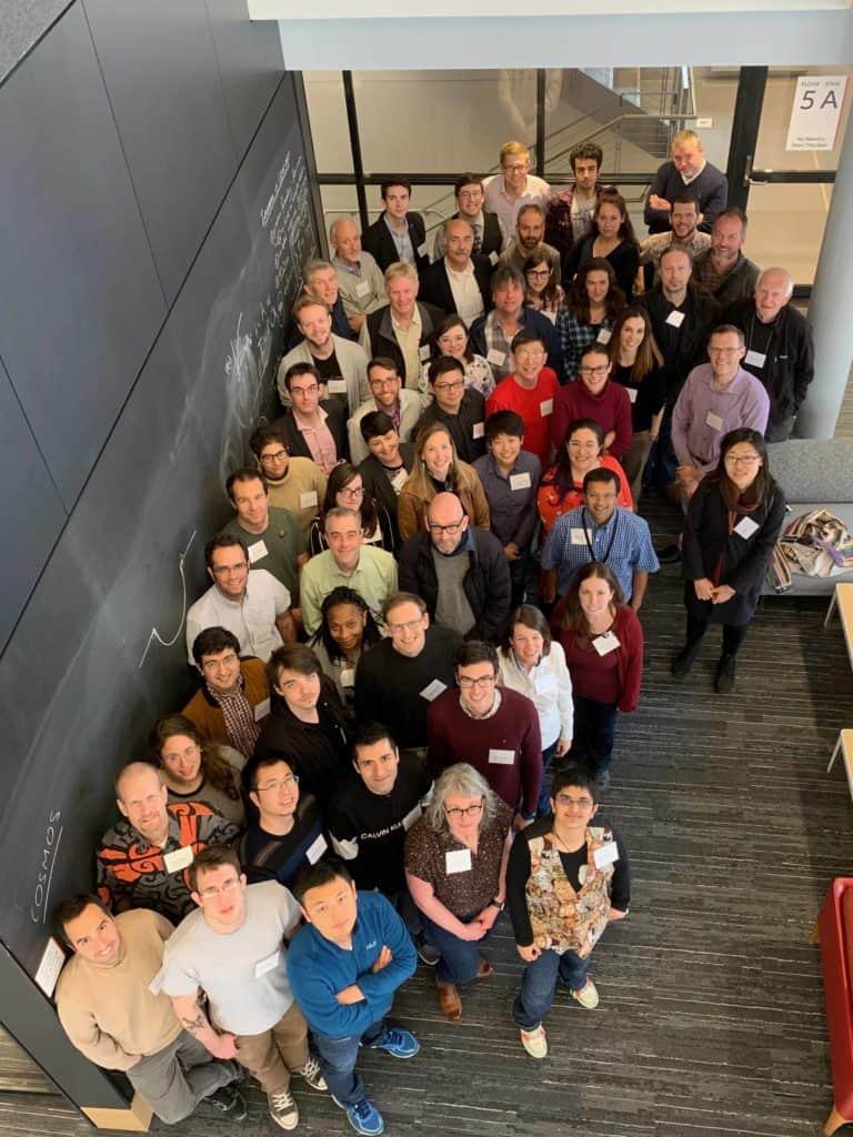 Fotografija tima COSMOS sa sastanka 2019. godine u New Yorku