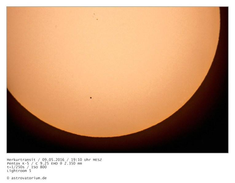 Merkurtransit 09.05.2016