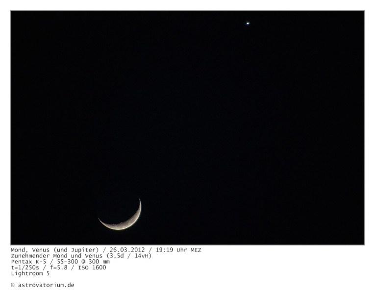Mond, Venus