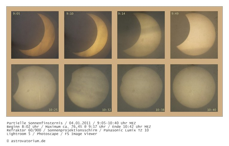 Sonnenfinsternis 04.01.2011