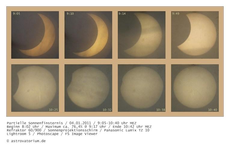 Sonnenfinsternis 04.01.2011