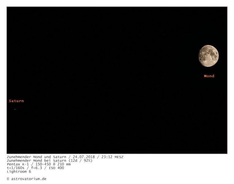 180724 Zunehmender Mond bei Saturn 12d_92vH_beschriftet