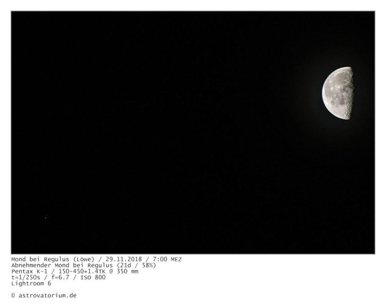 181129 Abnehmender Mond bei Regulus 21d_58vH