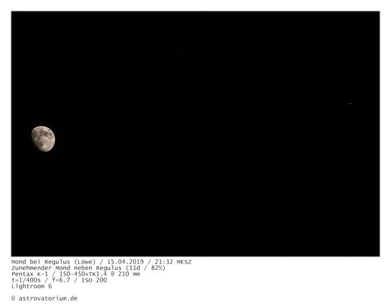 190415 Zunehmender Mond bei Regulus 11d_82vH
