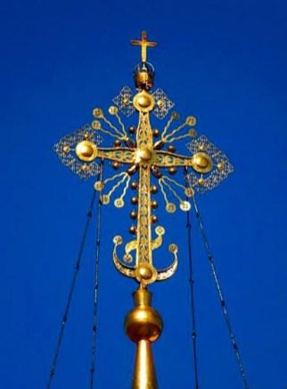 крест с солнцем