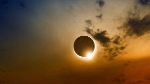 Solar Eclipse in Sagittarius