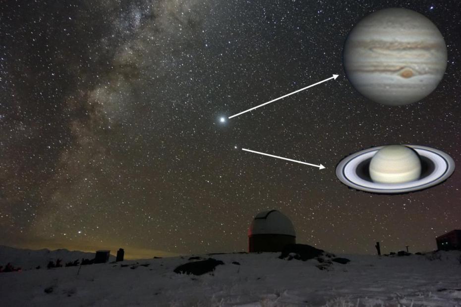 Saturn - Jupiter