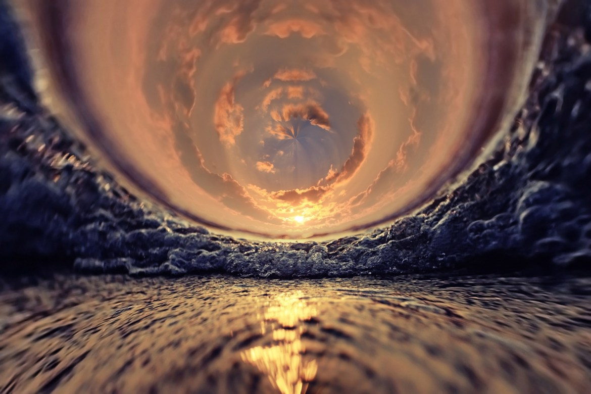 water sea sunset surf swirl of background