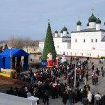 Рождественское представление на Соборной площади