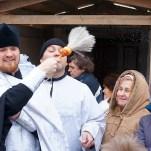 Праздник Крещения Господня, служение Литургии и чина великого освящения воды
