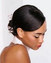 chignon africain pour mariage