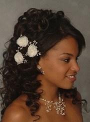 chignon mariage cheveux noir