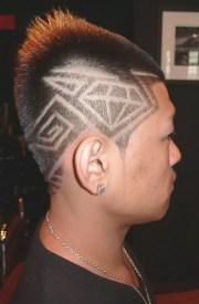 coupe de cheveux homme dessin