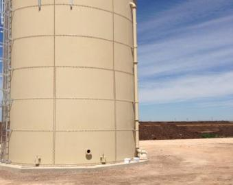 Water Tank in Hereford, TX