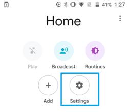 Chromecast-a-cessé-de-fonctionner-Google-Home-App-Paramètres