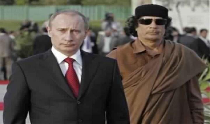 La révélation de Vladimir Poutine sur la mort de Kadhafi : « Ce que je regrette le plus (…) »