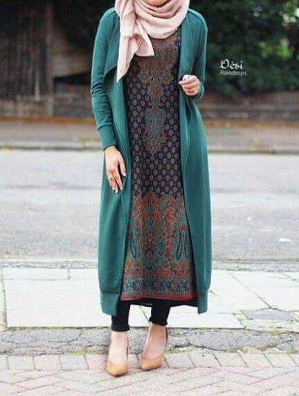Nouvelle Collection De Robe Dhiver Pour Femme Musulmane