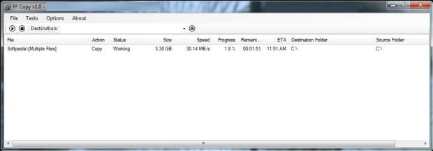 ffcopy - outils copiage fichier