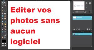 Modifier images sans aucun logiciel