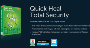 Quick Heal Total Security - Meilleur Antivirus 2018