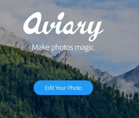 Aviary - Comment modifier vos photos sur PC sans aucun logiciel