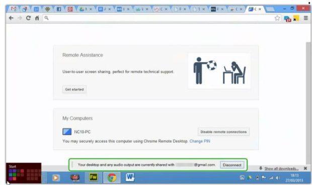 Accès à distance à l'ordinateur avec Google Chrome - 6