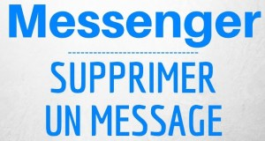 Supprimer message Facebook Messenger