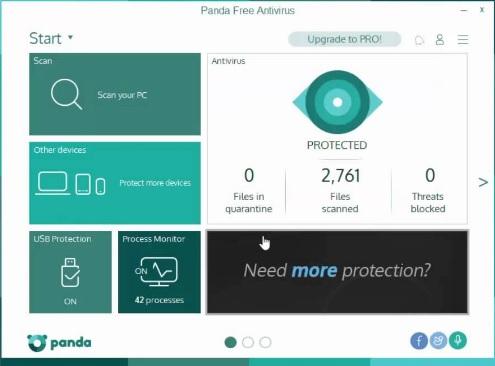 Panda - antivirus gratuit